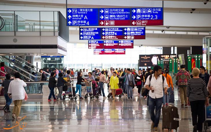 فرودگاه هنگ کنگ در بهترین فرودگاه های جهان