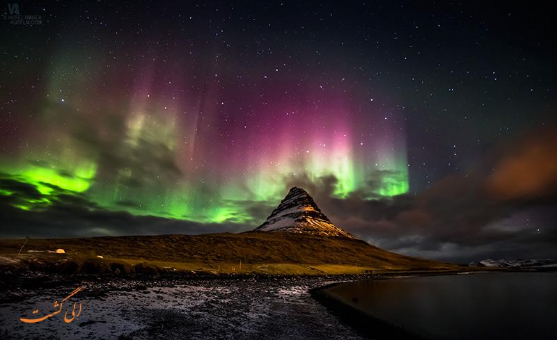 شفق قطبی ایسلند