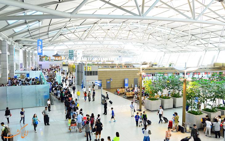 فرودگاه اینچئون در لیست شلوغ ترین فرودگاه های جهان