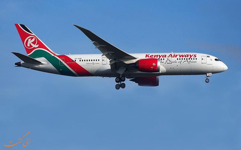 شرکت هواپیمایی کنیا ایر ویز