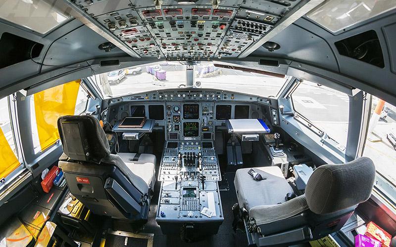 کابین خلبان هواپیماهای ماهان
