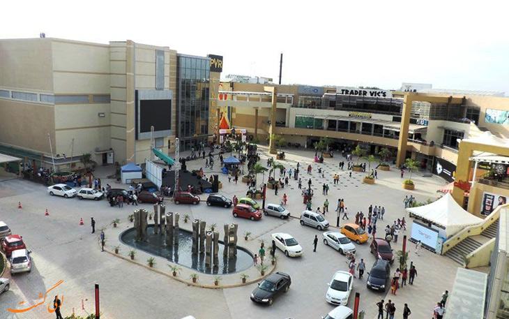 مرکز خرید در شهر بمبئی