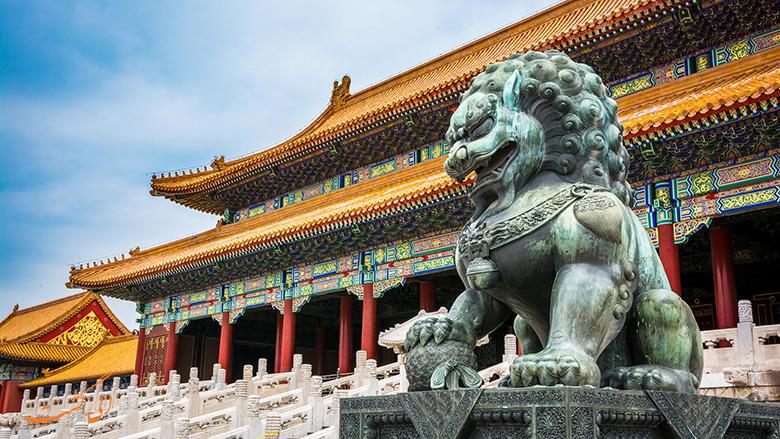 ساخت شهر ممنوعه چین