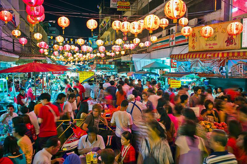 محله ی چینی ها در بانکوک
