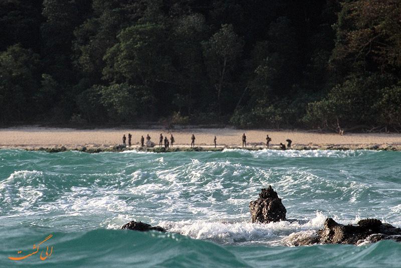 جزیره سنتینل در هند