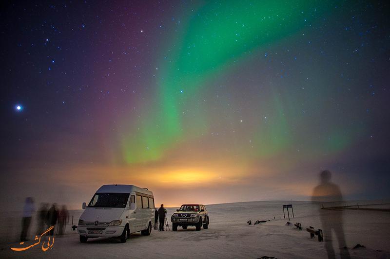 تور شفق قطبی در ایسلند