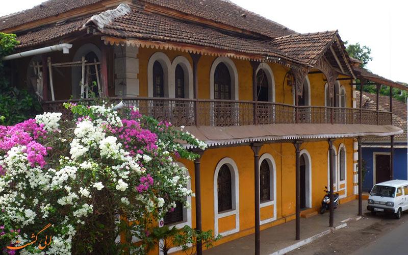 محله قدیمی Fontainhas