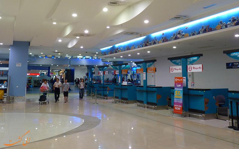 امکانات فرودگاه بین المللی پنانگ