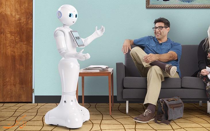 استفاده از ربات های انسان نما