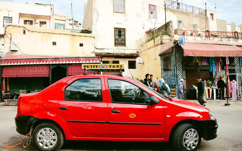 تاکسی اشتراکی پتیت (Petit Taxi)