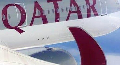 ویدیو هواپیمایی قطر