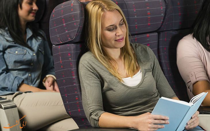 مطالعه برای سرگرم شدن در هواپیما