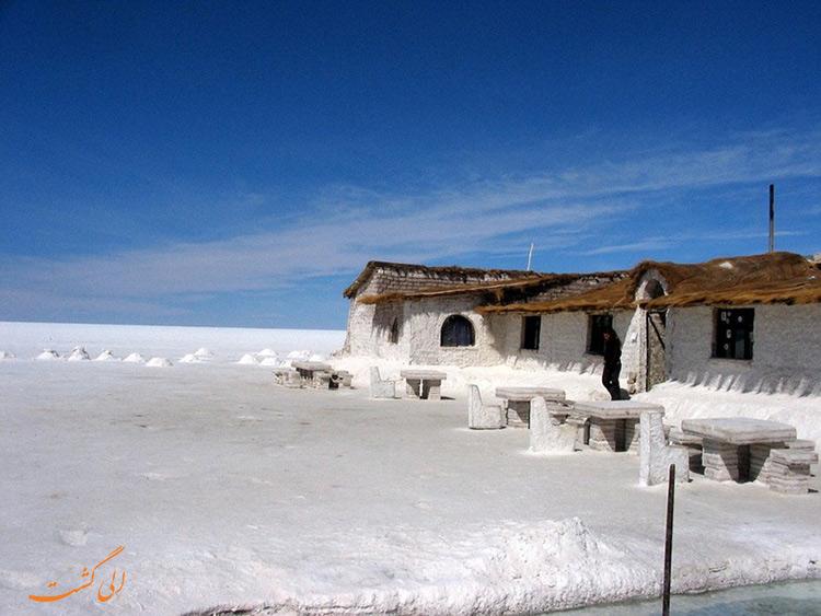 هتل های نمکی بولیوی