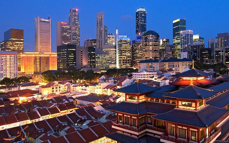 سنگاپور- مدرن ترین شهر های دنیا