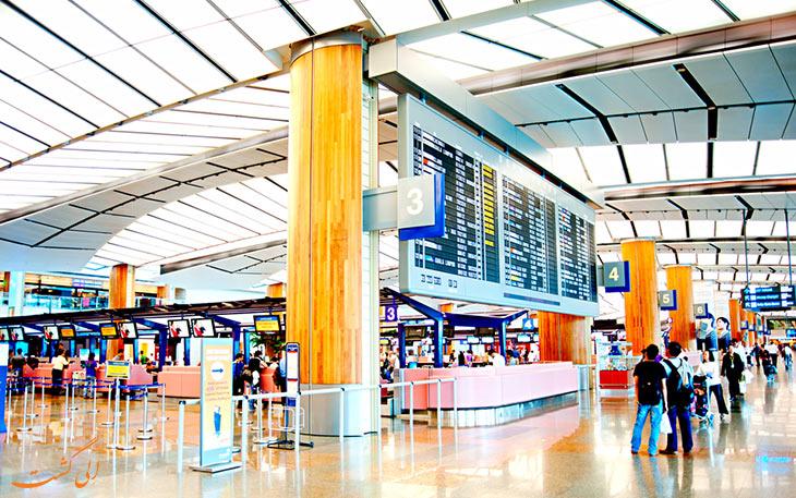 انتخاب های حمل و نقل فرودگاه چانگی