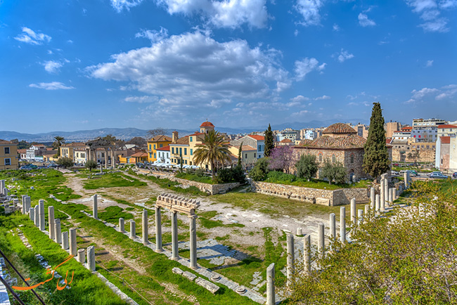 بازار باستانی آتن