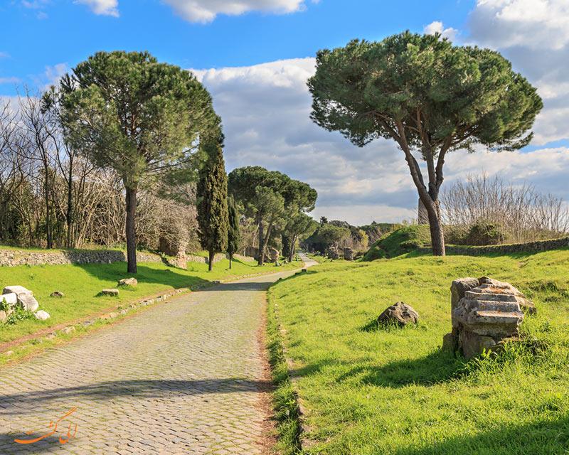 جاده آپیان در رم
