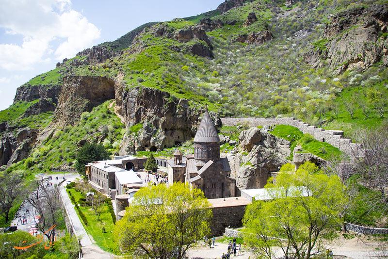 عکس کلیسای گغارد در ارمنستان