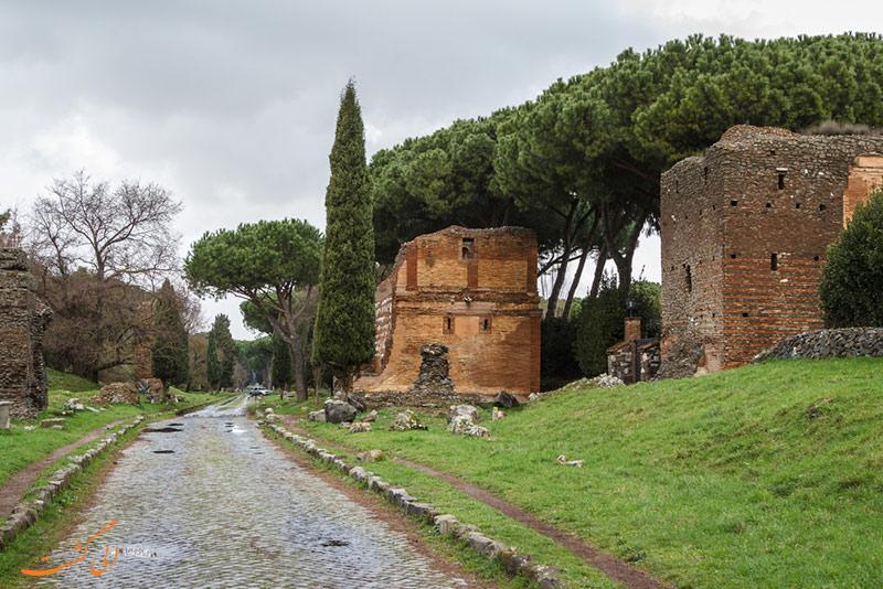 عکس های جاده آپیان رم