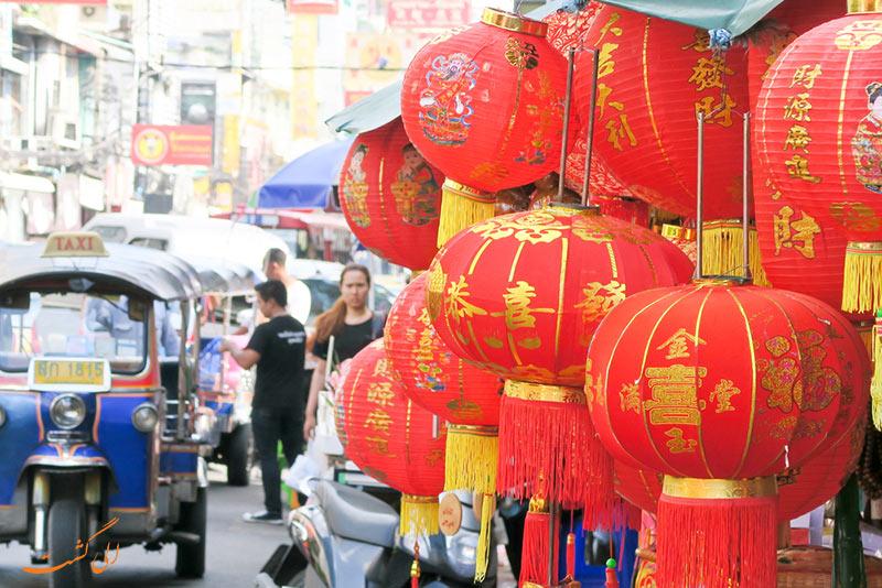 عکس های محله چینی ها در بانکوک