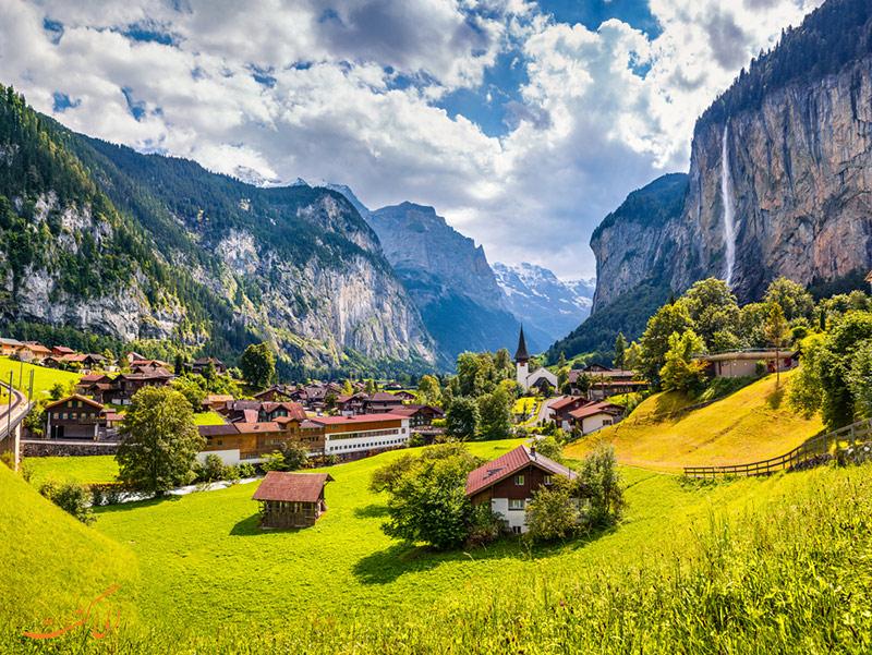 دره لاتربرونن در سوییس
