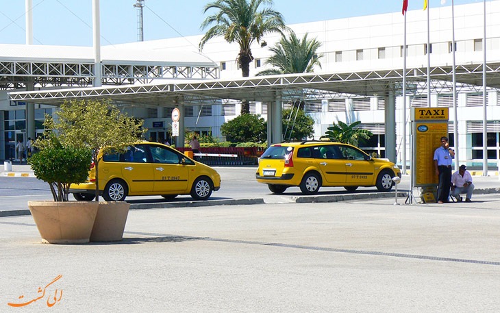تاکسی در حمل و نقل فرودگاه آنتالیا