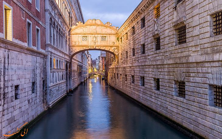 پل افسوس در شهر ونیز