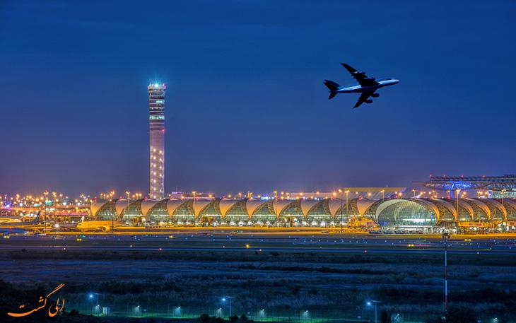 فرودگاه سووارنابومی در لیست شلوغ ترین فرودگاه های جهان