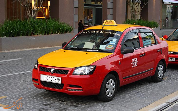 هزینه حمل و نقل در مالزی تاکسی