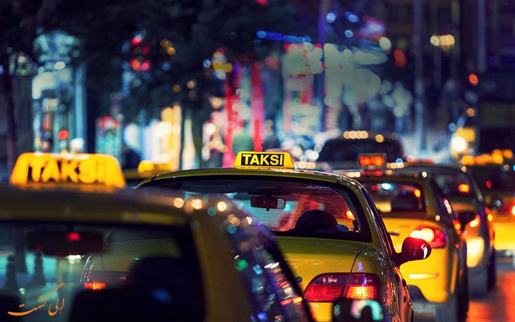 تاکسی در حمل و نقل فرودگاه صبیحه گوکچن