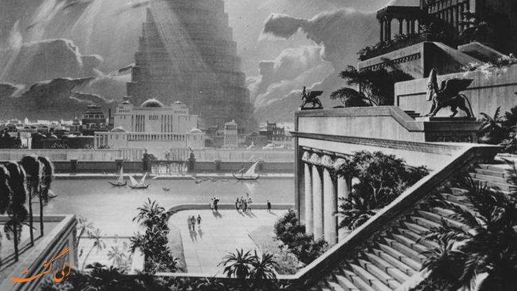 باغ های معلق بابل | جاذبه های گردشگری