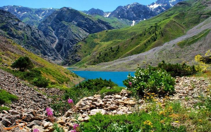 عکس از طبیعت ازبکستان