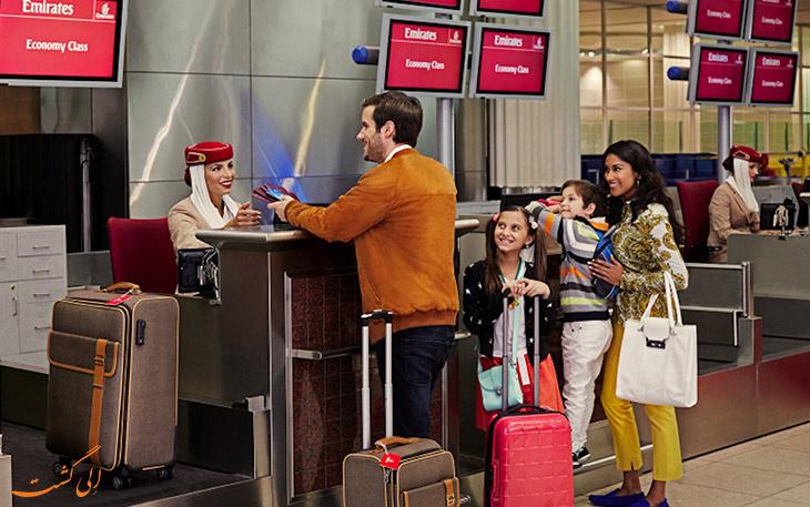 خدمات بار هواپیمایی امارات در دبی
