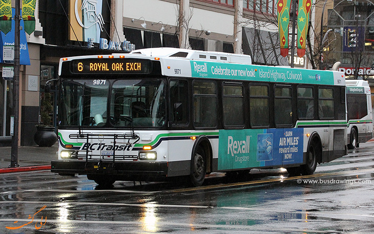 هزینه حمل و نقل در شهر ویکتوریا کانادا