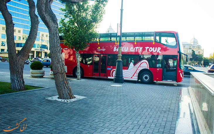 حمل و نقل در شهر باکو