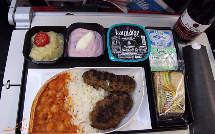 ترکیش: بهترین غذای اکونومی