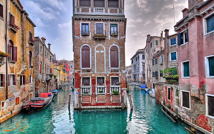 مختصری از تاریخ شهر ونیز