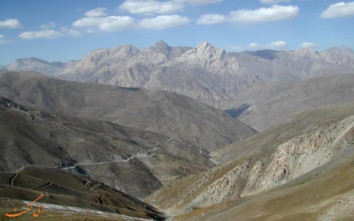 رشته کوه زرافشان ازبکستان
