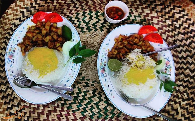 انکاس- غذاهای جنوب ایران