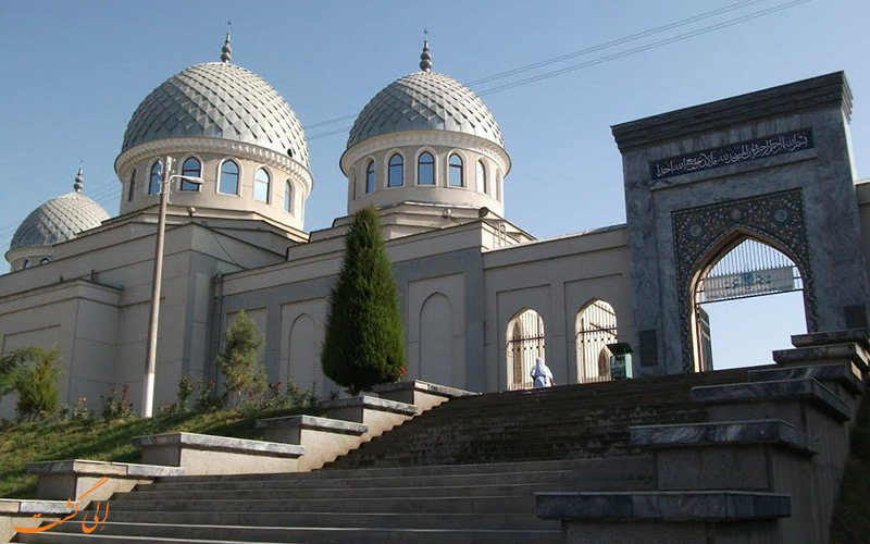 مسجد-جامع-تاشکند-Mausoleum of Saint Sheikhantaur in Tashkent