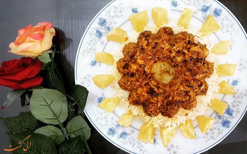 پودینی کوسه - غذاهای جنوبی