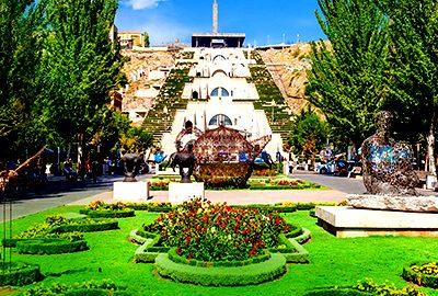 شهر ایروان در ارمنستان