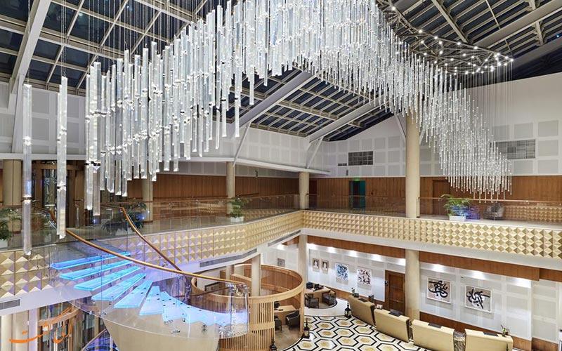 هتل اینترکنتینانتال د سیتی دوحه   لابی