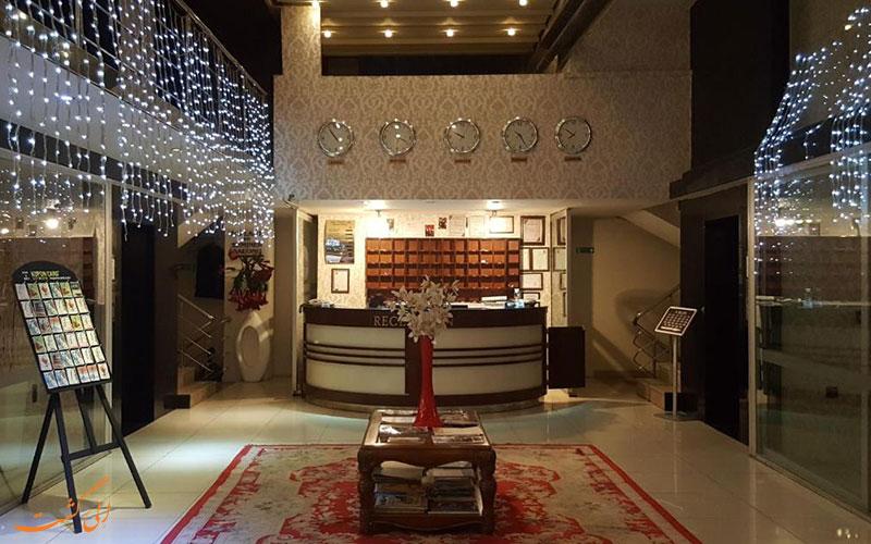 هتل لطیف اوغلو آنکارا | لابی