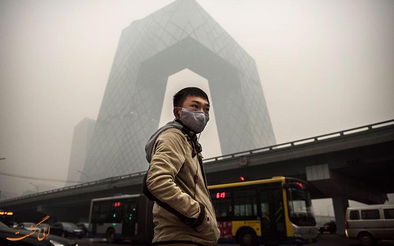 آلودگی هوای چین