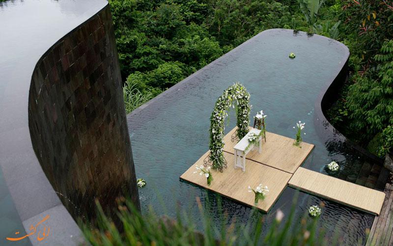 هتل هنگینگ گاردن بالی | خدمات عروسی