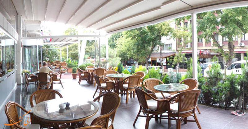 هتل لطیف اوغلو آنکارا | تراس