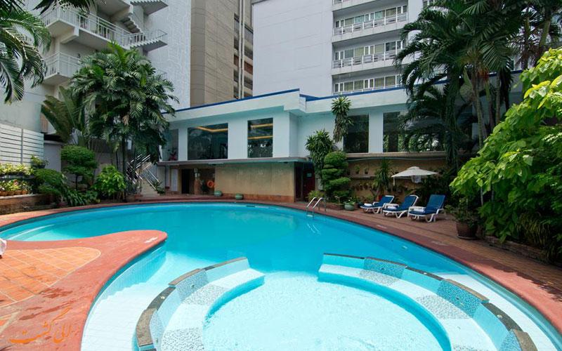 هتل منهتن بانکوک | استخر