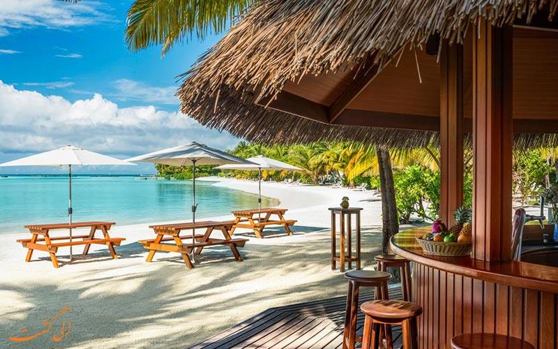هتل شرایتون فول مون مالدیو | نمونه رستوران