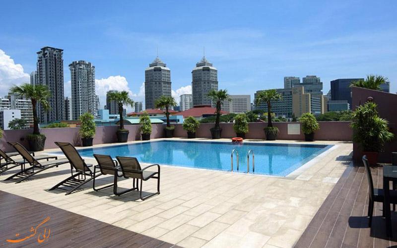 هتل ولیو تامسون سنگاپور | استخر